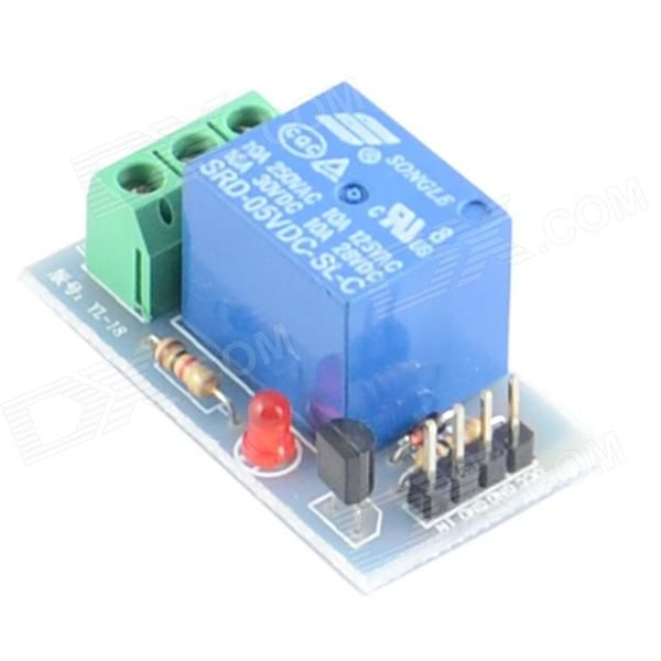 1-Channel 5V Relay Module for Arduino (Works with Official Arduino