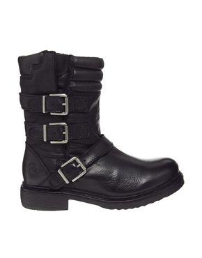 Bronx Multi Strap Flat Boots