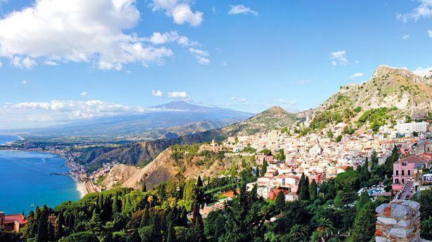 Taormina Italy (Sicily) Stay at the Albergo Villa Nettuno