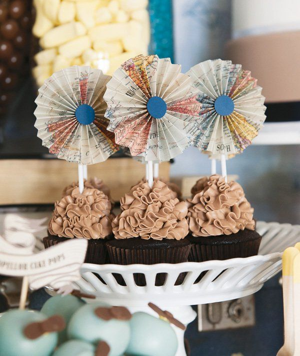 Harry's {Super Stylish!} Vintage Airplane Party