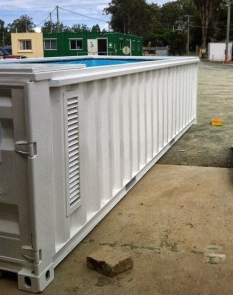 Piscina container poss vel shipping container pinterest container pool shipping - Container piscina ...