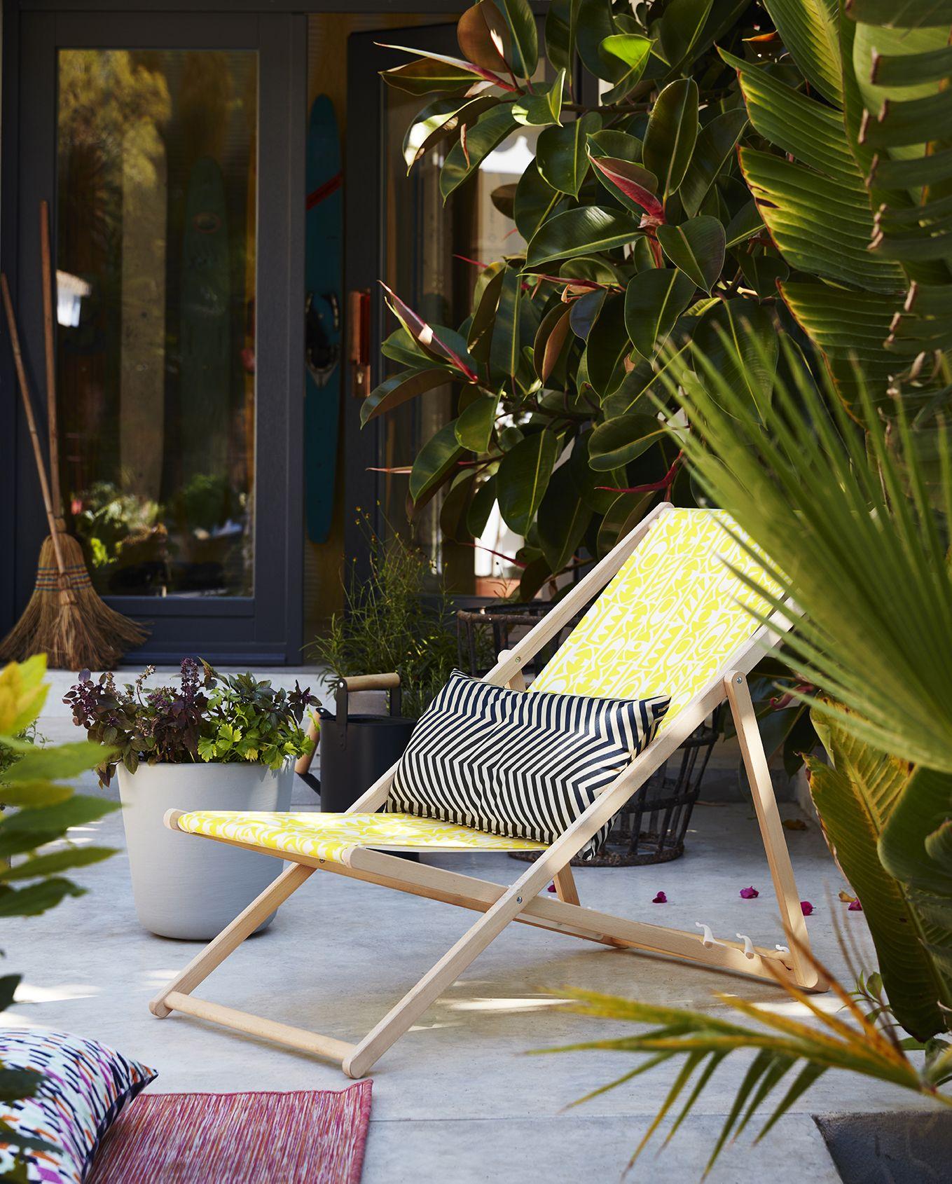 Ikea Sommer 2017 Kollektion Strandstuhl Draussenzimmer