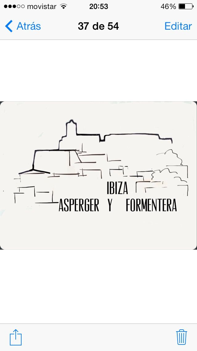Logo asociación Asperger Ibiza y Formentera
