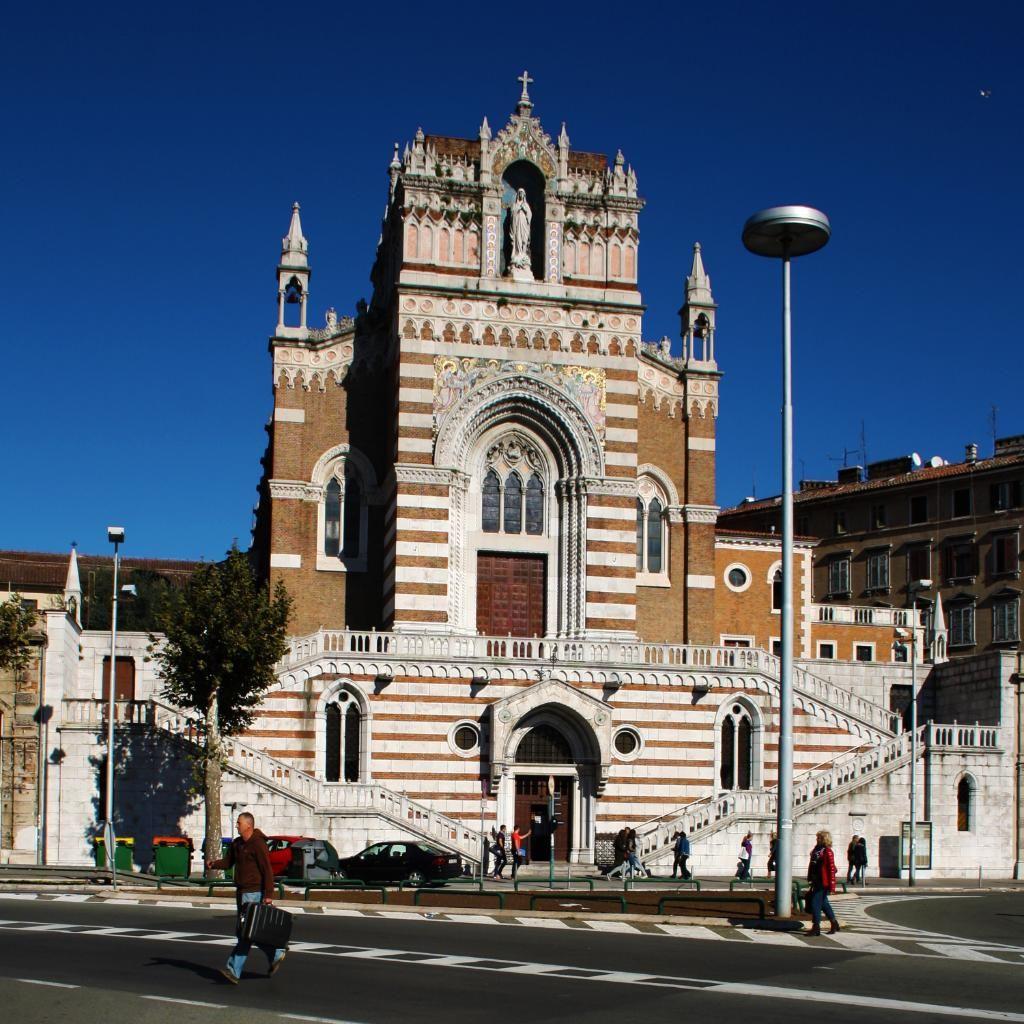 Capuchin Church Of Our Lady Of Lourdes Rijeka Church Of Our Lady Our Lady Of Lourdes
