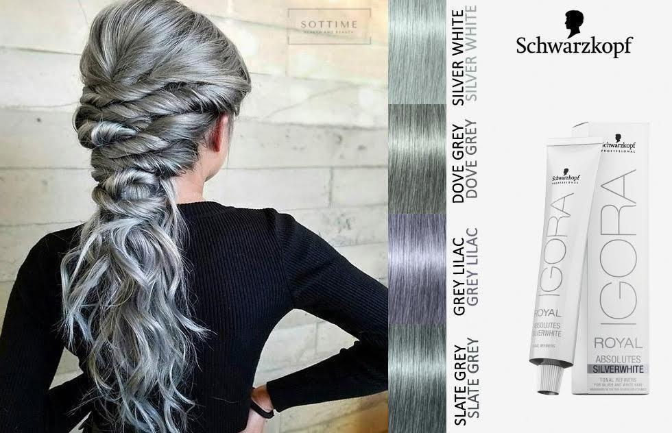 95cab6f07d Schwarzkopf Igora Royal Absolute 60ml. Grey Lilac. Silver White. | eBay!
