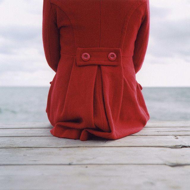 red coat. by browncardigan, via Flickr