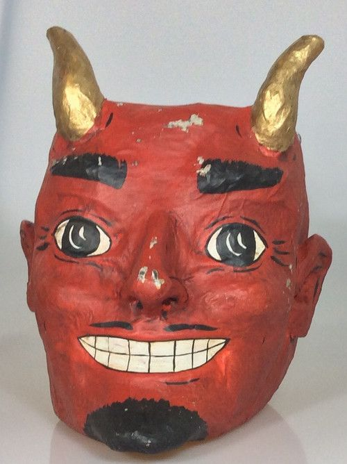 Devil Halloween Candy Bucket