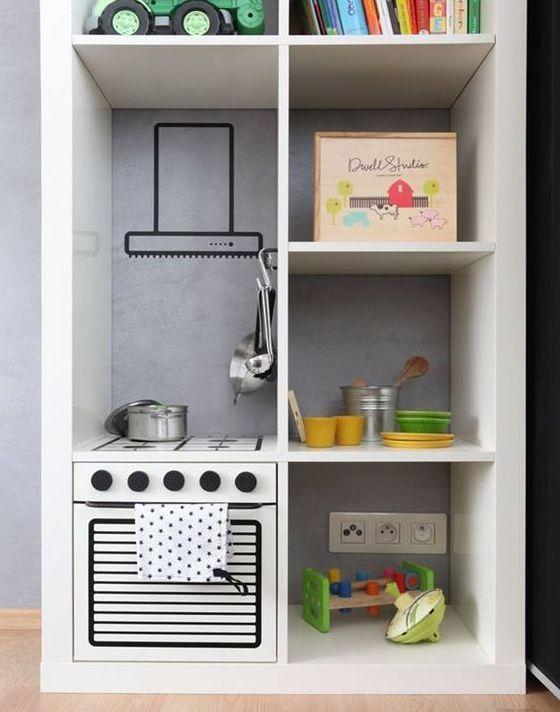 Mommo Design Ikea Hacks For Kids Kallax Kitchen Ikea Diy Kids