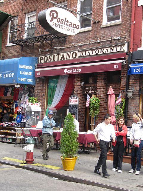 Positano Restaurant, Little Italy, New York