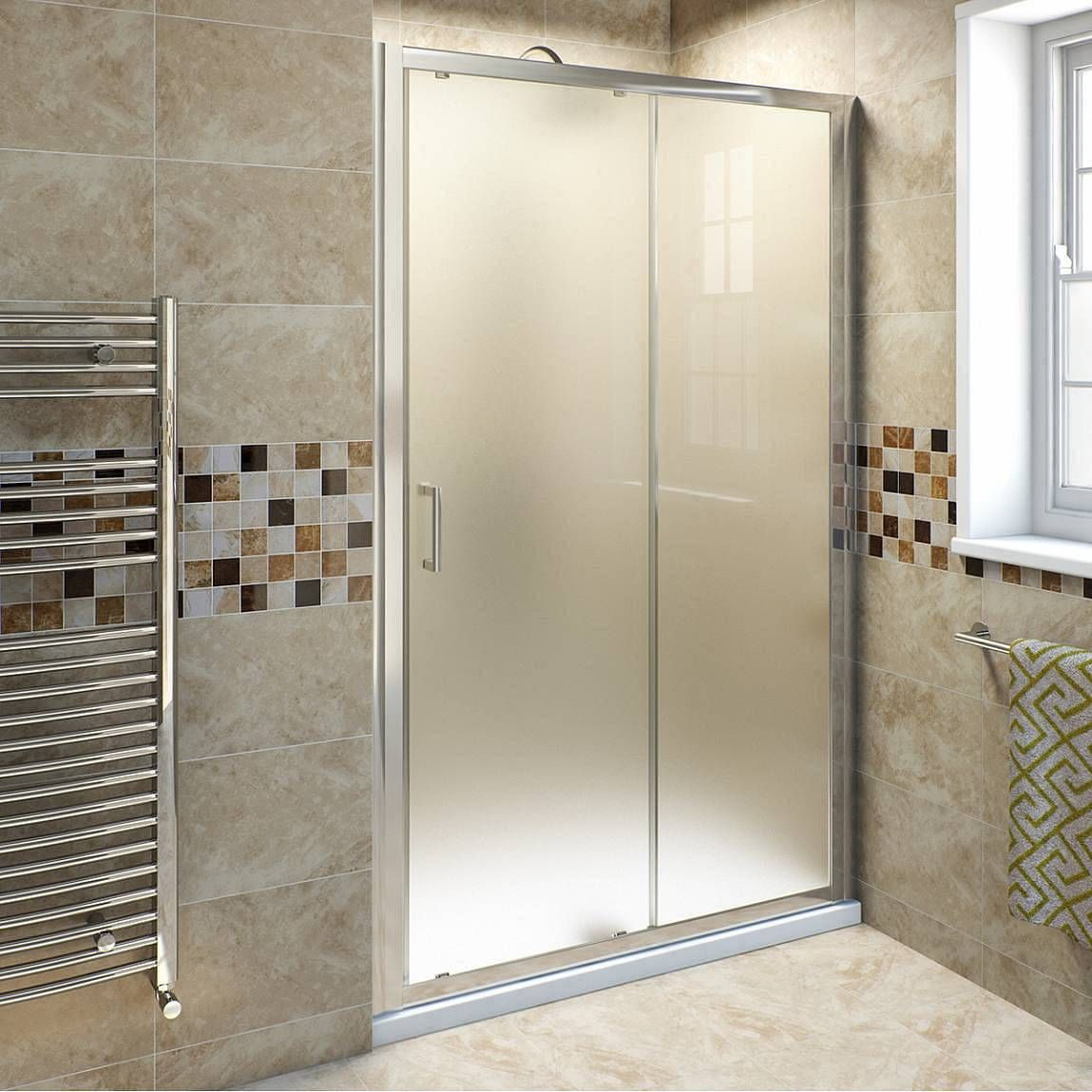 6mm Frosted Glass Sliding Shower Door 1200mm Shower Doors Shower Sliding Glass Door Sliding Shower Door