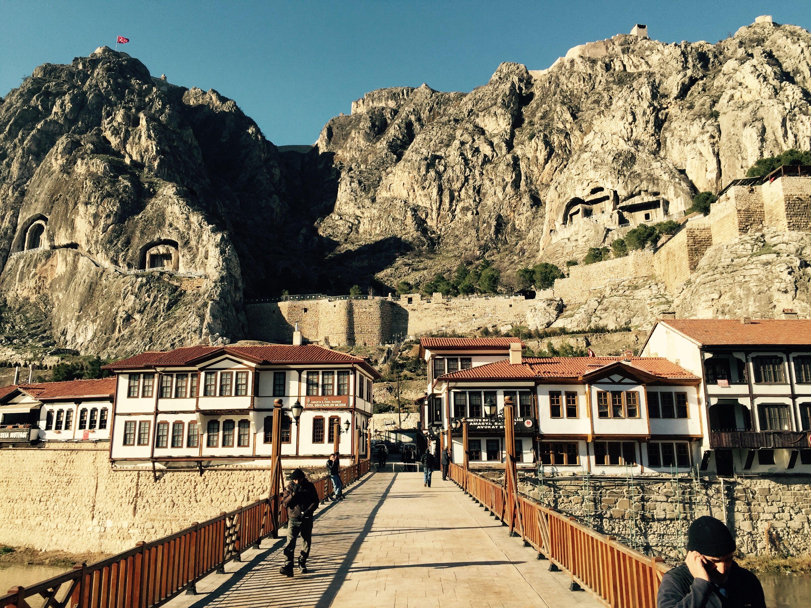 Amasya is a beaitiful city from Turkey.