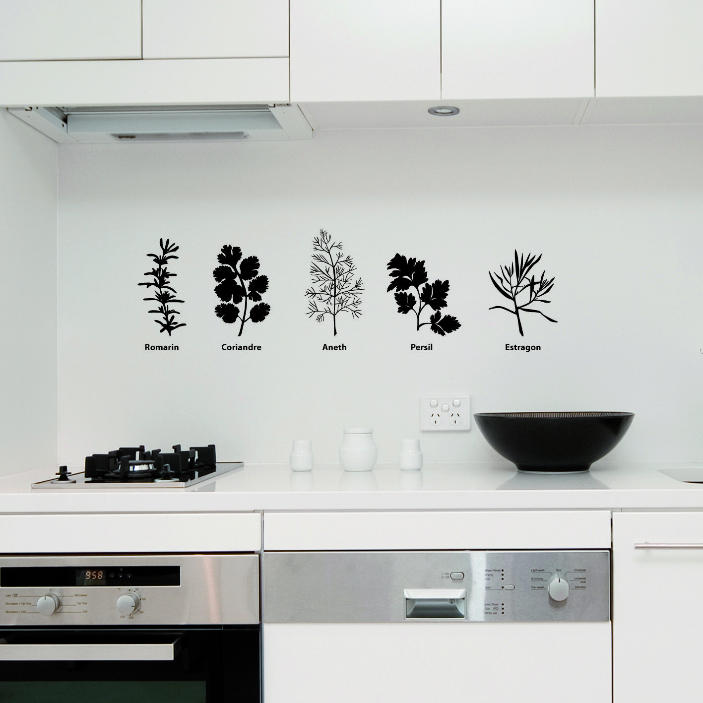 Wall Stickers Kitchen Creative