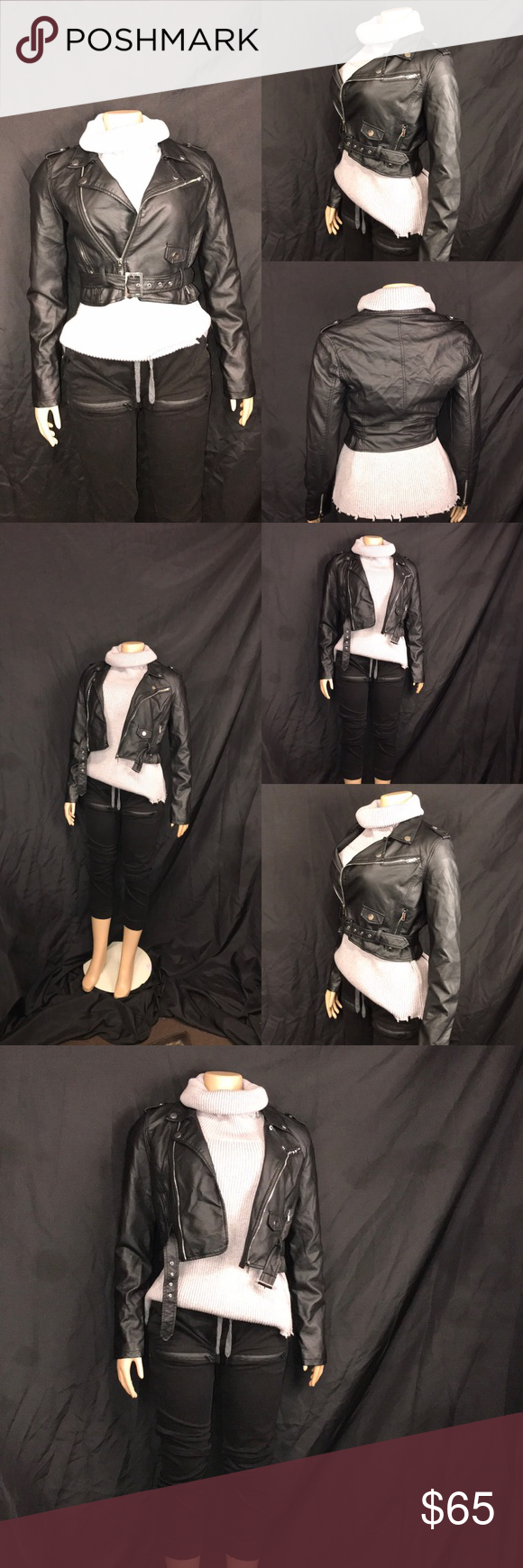 Ashley Outerwear By 26 International Moto Jacket Ashley Outerwear By 26 International Cropped Moto Jacket Belted Side Moto Jacket Cropped Moto Jacket Outerwear [ 1740 x 580 Pixel ]