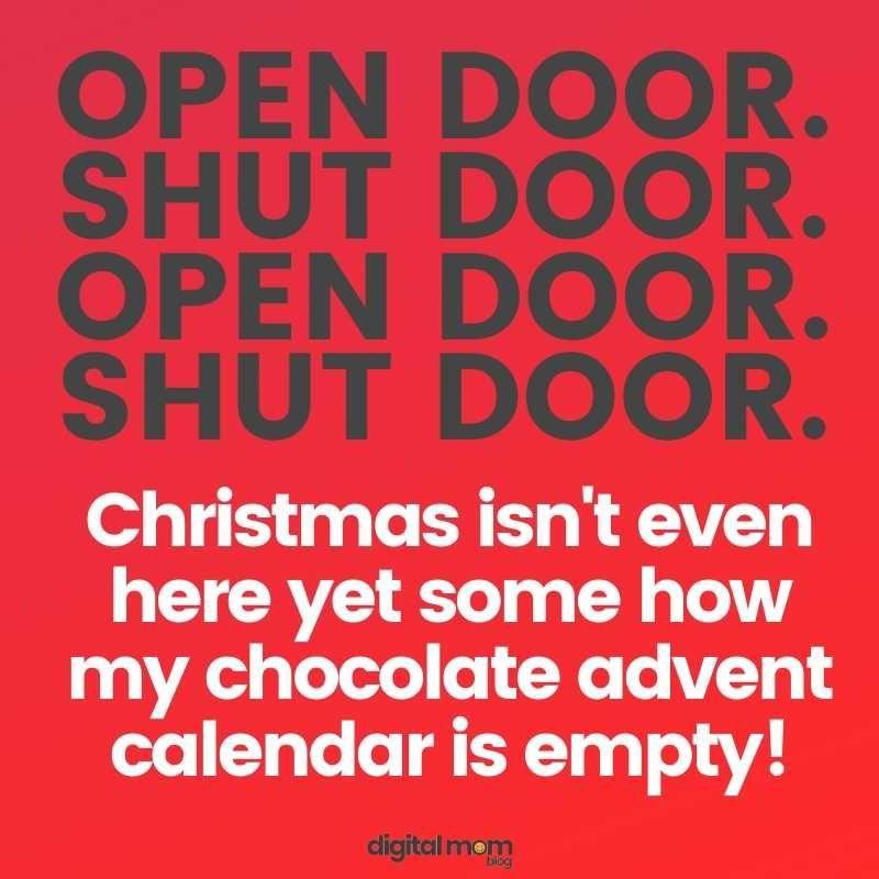50 Clean Christmas Memes Chocolate Advent Calendar Christmas Memes Calendar Quotes