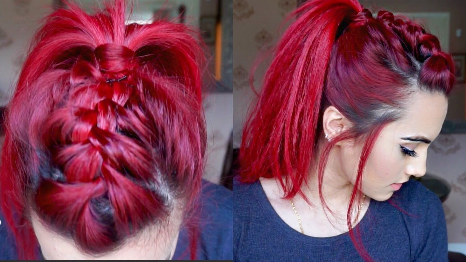 Image result for red boxer braids beauty pinterest french