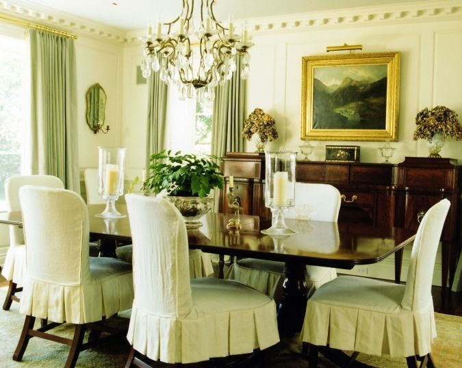 Room Fancy Dining Chair Covers