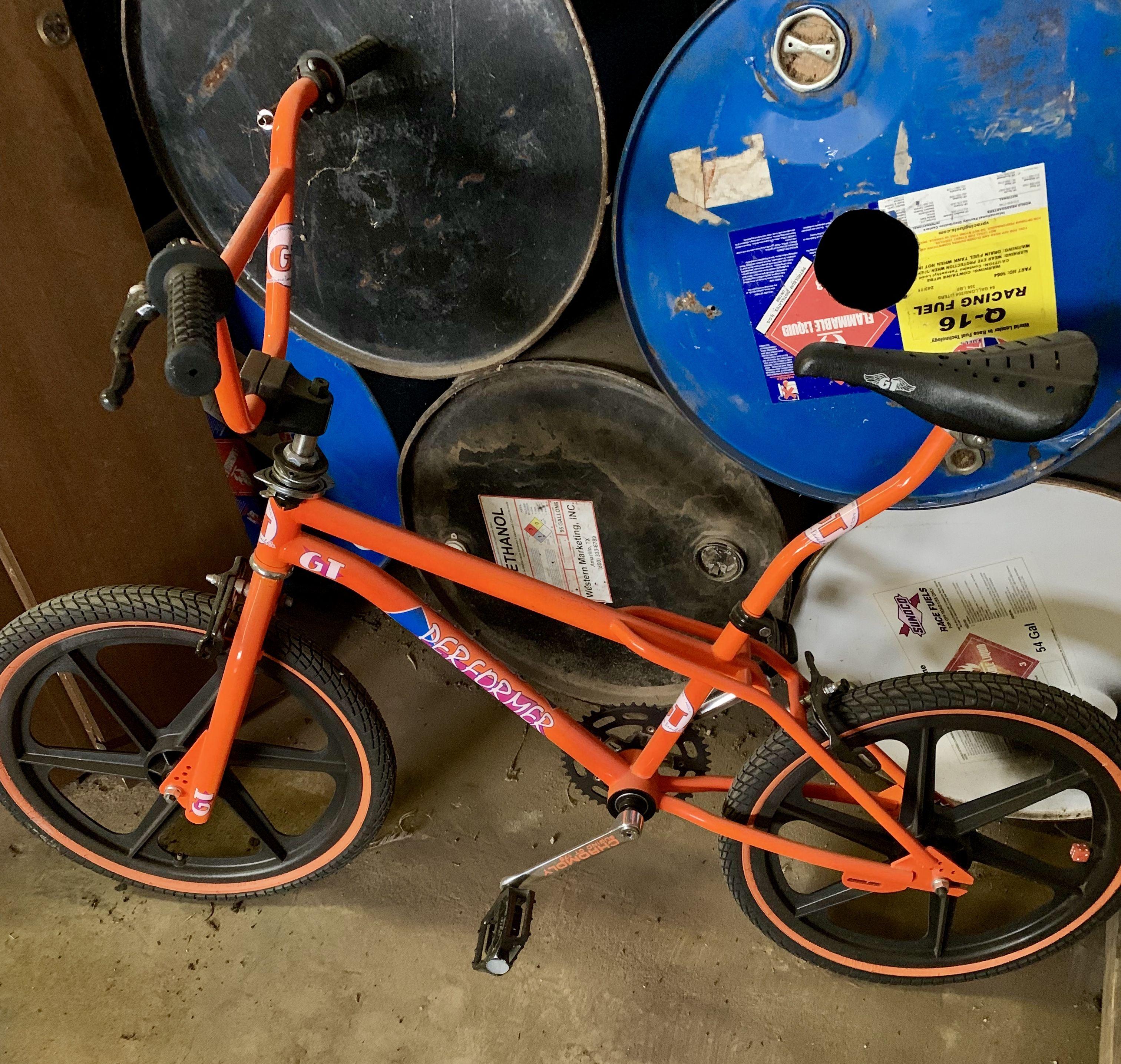 OLD SCHOOL BMX MTB STICKER  GT NOS