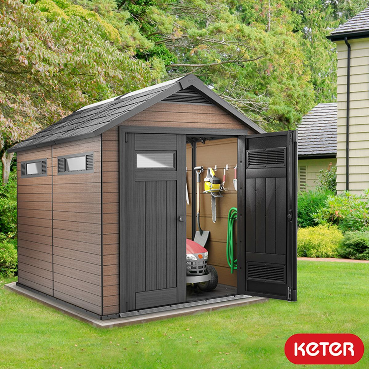 Keter Fusion 7Ft 6 X 9Ft 5 2 3 X 2 9M Shed Sheds 640 x 480