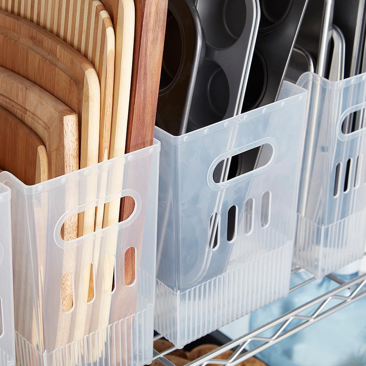 Multi-Purpose Bins | The Container Store #cabinetorganization