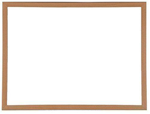 Message Boards 90cm x 60cm Heavy Duty Magnetic Chalk Blackboard Wooden Framed Memo Board &...
