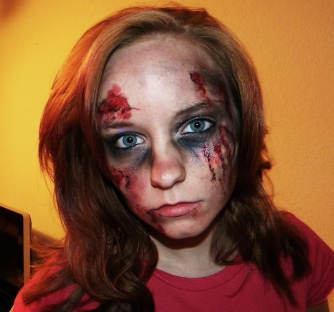 Maquillage zombie yahoo recherche actualit s maquillage pinterest zombie makeup - Maquillage zombie simple ...