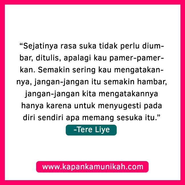 Tere Liye Quotes Cinta 6