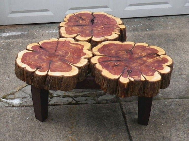 70 Inspiring Diy Wood Slab Coffee Table Ideas Wood Diy Cedar Wood Projects Raw Wood Furniture