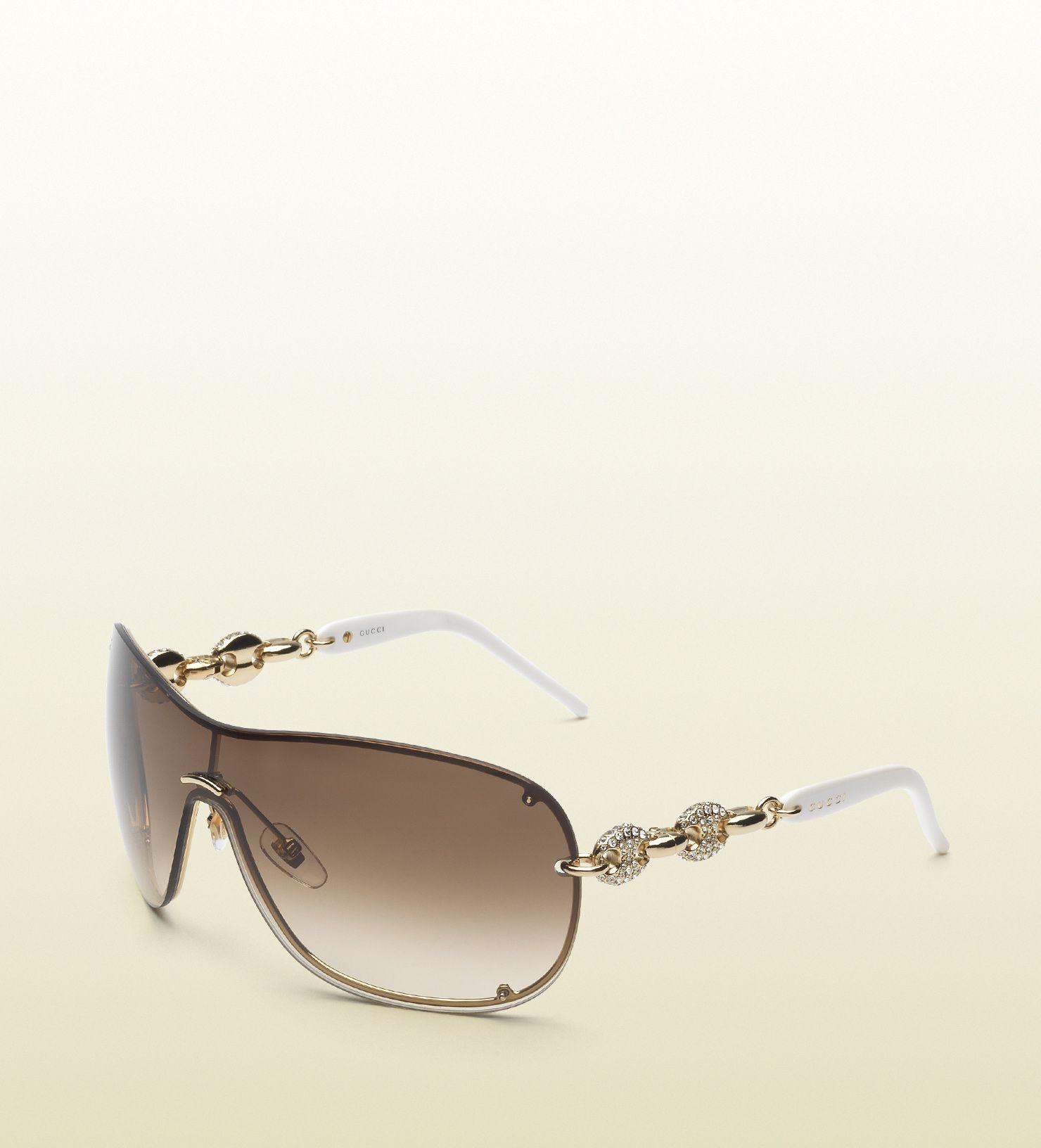With DetailLunettes Sunglasses Strass Swarovski Mask wPX08Onk