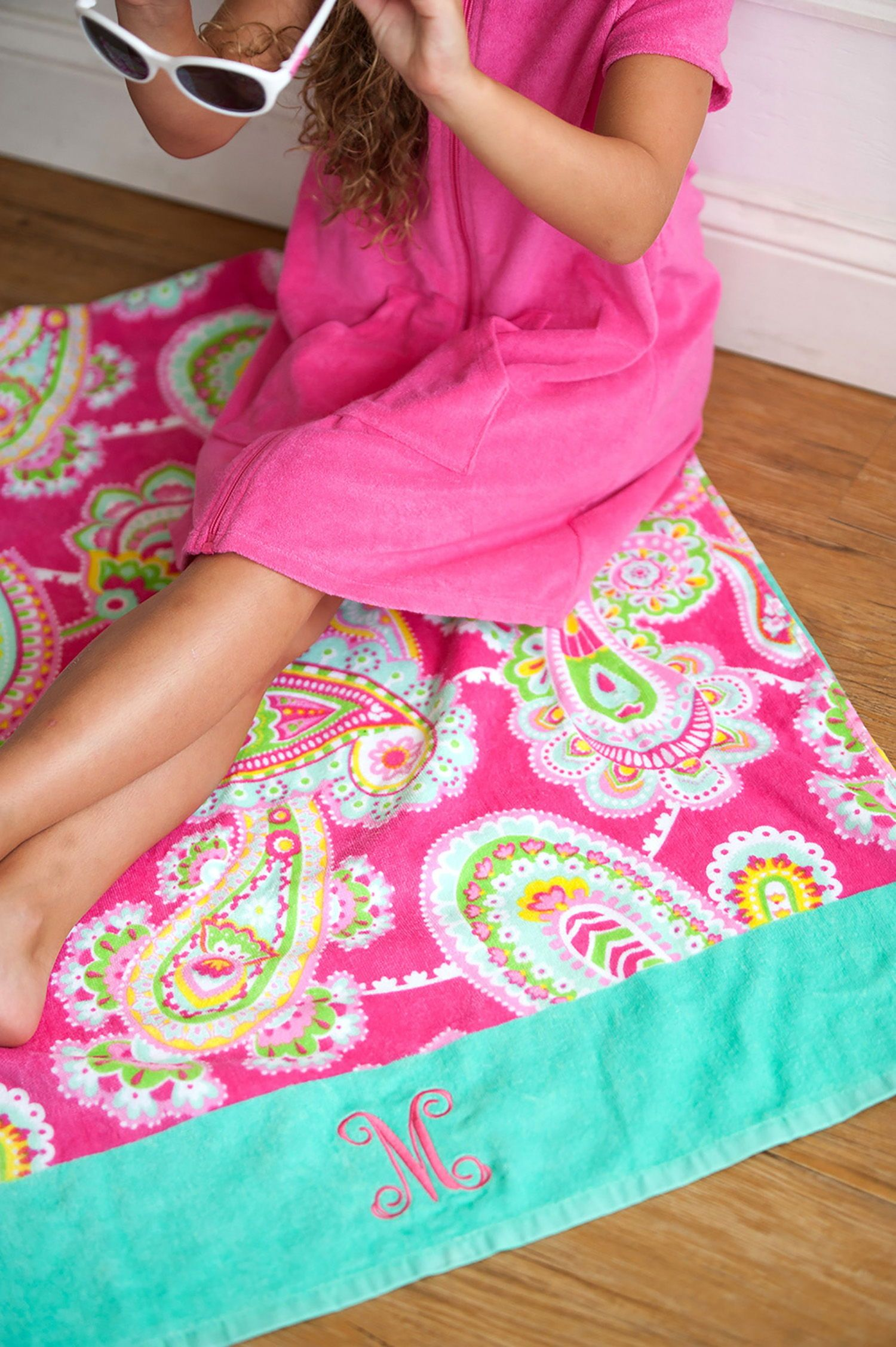 Personalized Beach Towel Monogram Beach Towel Beach Towel