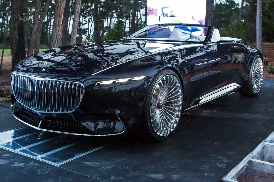 Vision Mercedes Maybach 6 Cabriolet First Look Mercedes Maybach Concept Cars Maybach