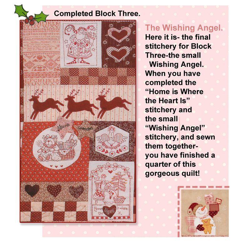 Wish Quilt / bordado navidad | bordado | Pinterest | Red brolly ... : red brolly wish quilt - Adamdwight.com