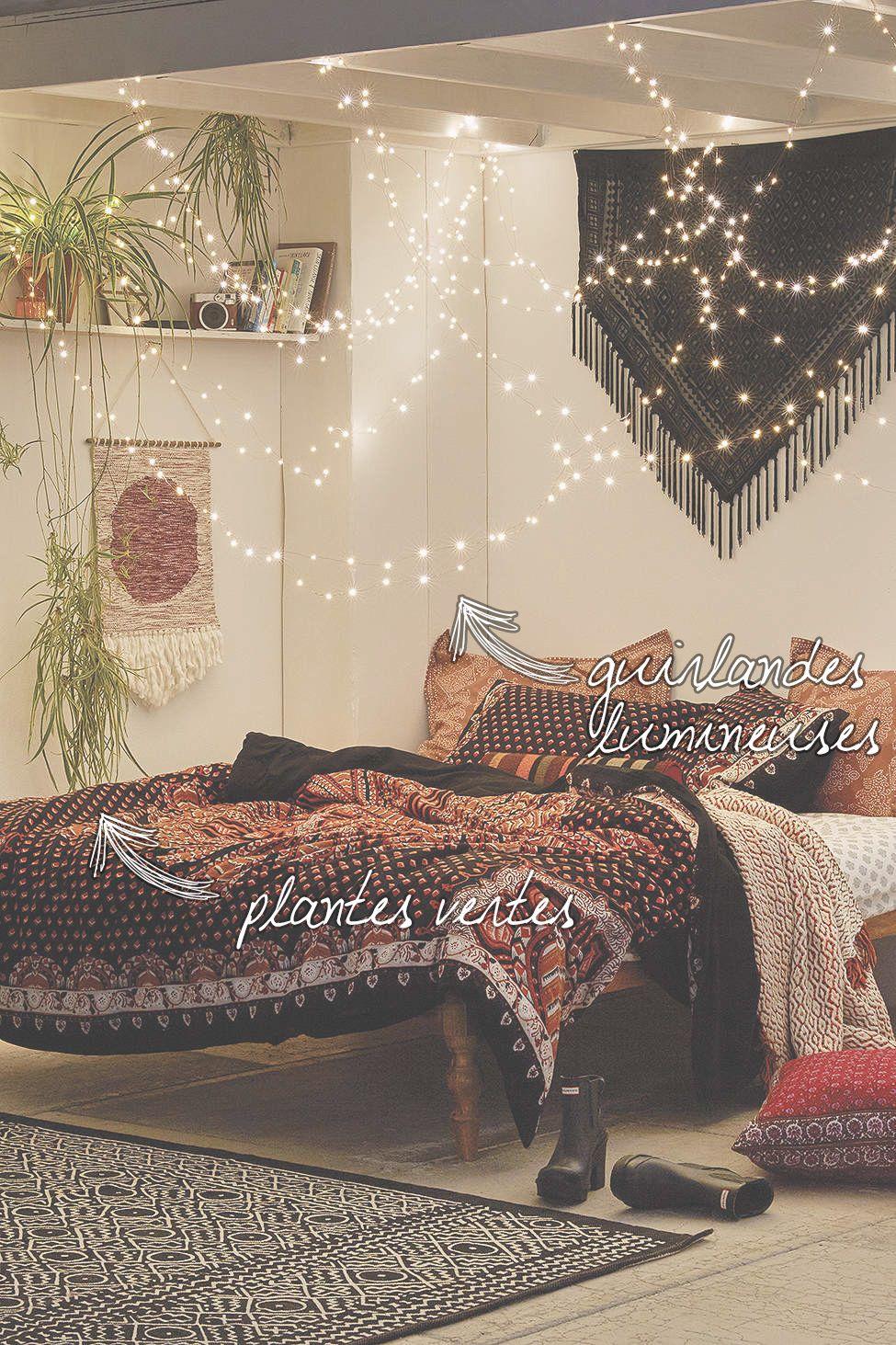 chambre boheme home pinterest boh me chambres et. Black Bedroom Furniture Sets. Home Design Ideas
