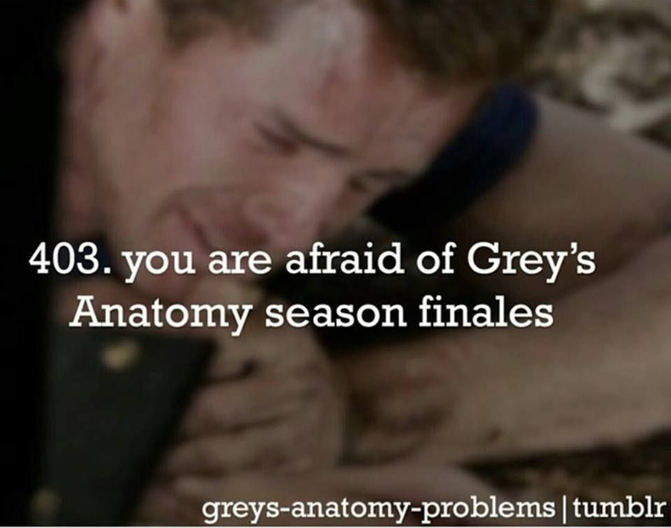 Because you KNOW Shonda is gonna screw you over | dark and twisty ...
