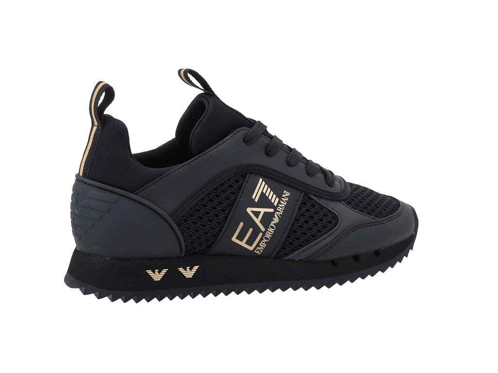Snikrsi Ea7 Emporio Armani X8x027 Xk050 M701 Triple Black Gold Snikrsi Obuvki Mzhki Obuvki Bg Triple Black Armani Emporio Armani
