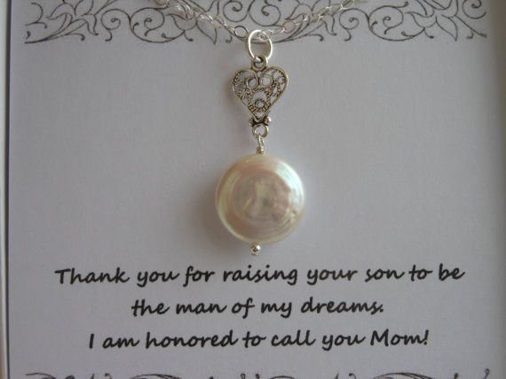 Mother Of The Groom Gift: Mother Of The Groom Gift, Mother In Law Gift, Silver Heart