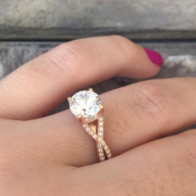 Tacori Engagement Rings  How Theyre Made   Rose gold ...