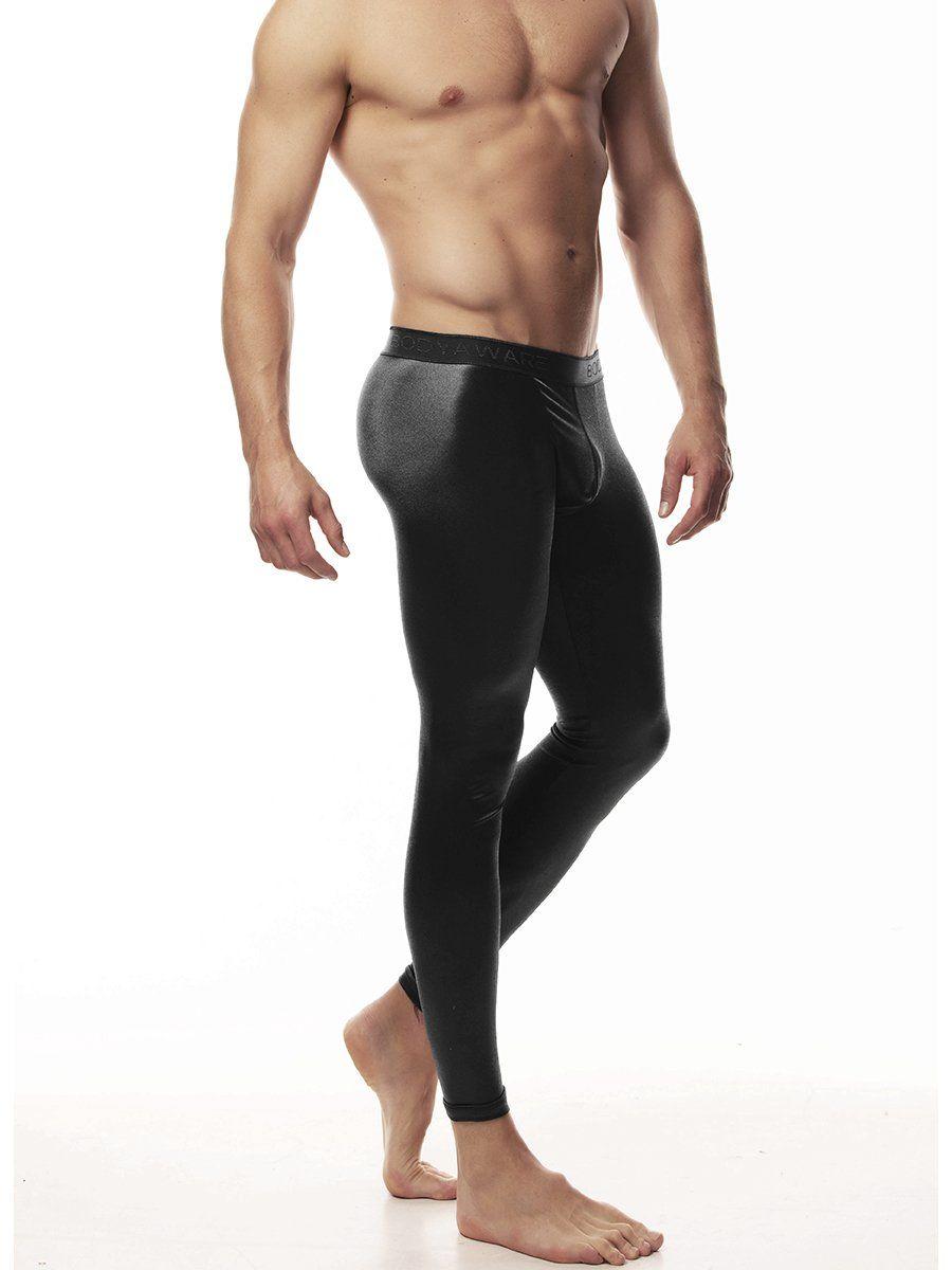 Body Aware Men/'s Satin Leggings