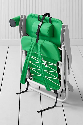 Backpack Beach Chair Great To Strap On Back Of Bike Or Just Put