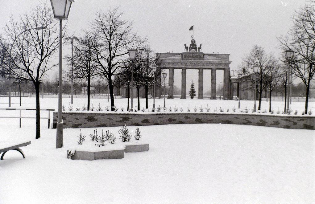 Bbt 1964 1 Brandenburger Tor Berliner Mauer Brandenburger Tor Berlin