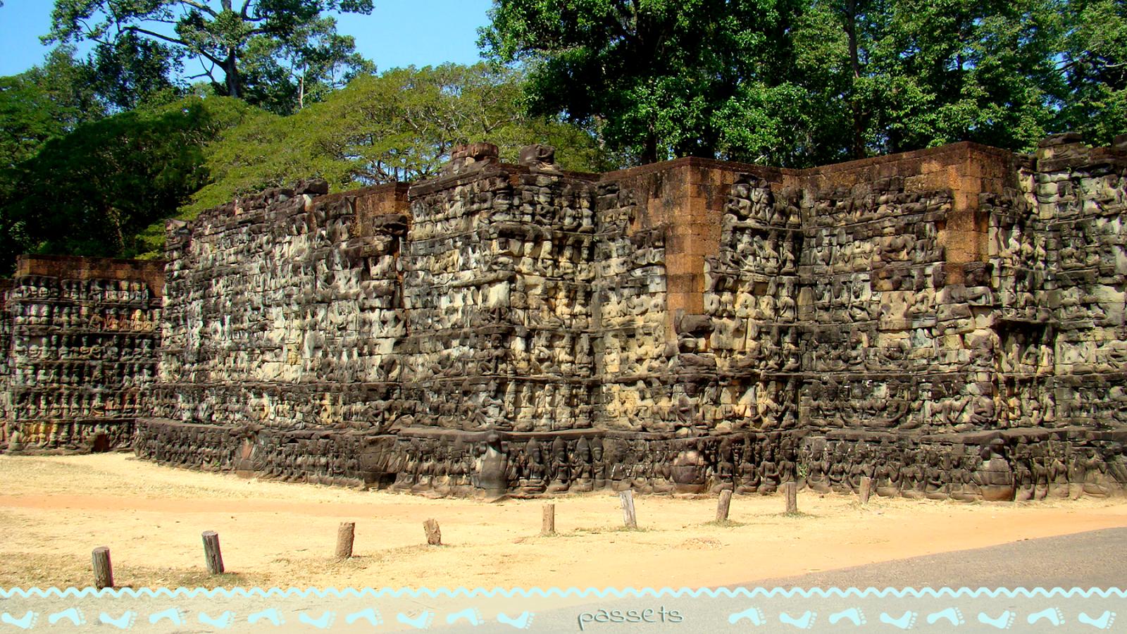 Leper King Terrace #Angkor #SiemReap #Cambodia #Asia