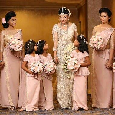 Pin by mayura on sri lankan brides and bridesmaids for Sri lankan wedding dress