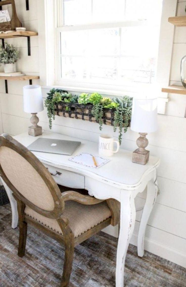 20 amazing farmhouse office desk ideas in 2020 home