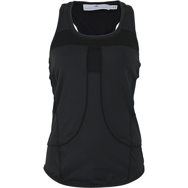 STELLA McCARTNEY ADIDAS Performance Running Tank ($90) ❤ liked on Polyvore