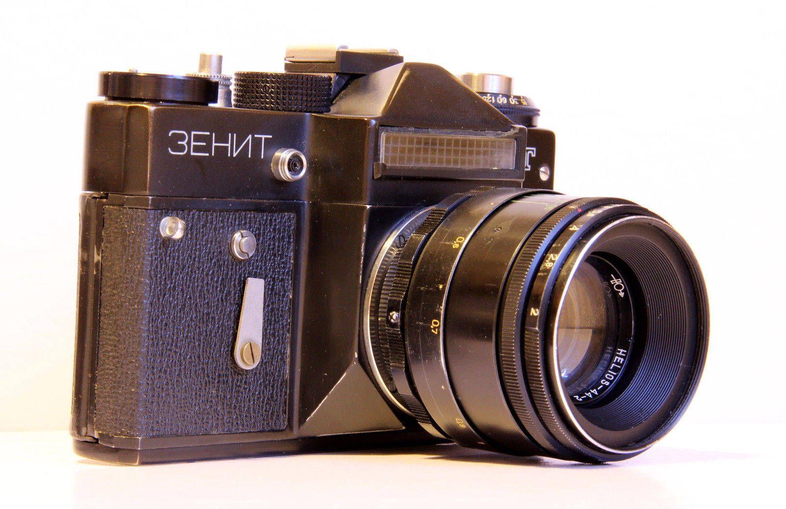 Zenit Et Vintage Slr Russian Camera Lens Helios 44 2 Bonus