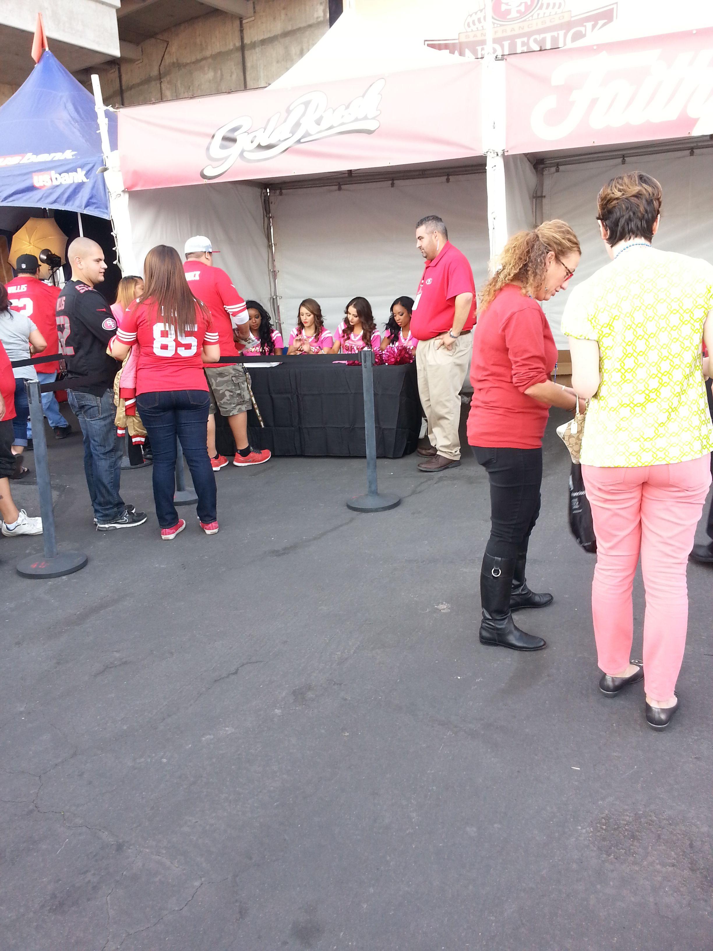 49er Cheerleaders 2013