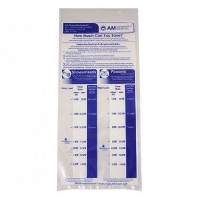 Our Shower And Faucet Flow Meter Bags Are Used To Measure The Flow Of Water In Faucets And Showers To Ensure That Is It Water And Cost Effecti Water Conservation