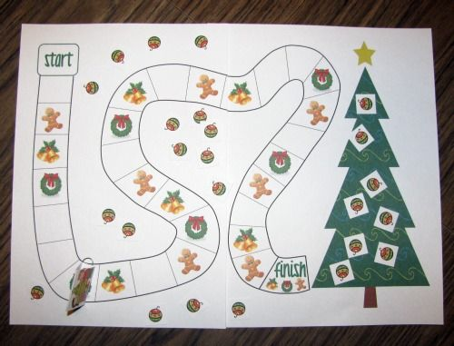 Decorate the Christmas Tree Free Cooperative Game Printable | Christmas tree game, Preschool ...