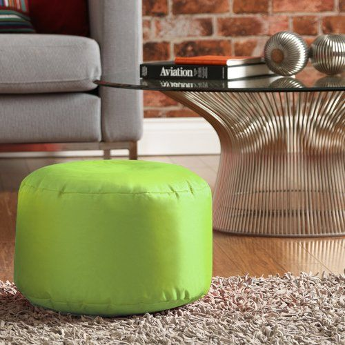 Israel Pouffe Metro Lane Colour Lime Green Outdoor Footstool
