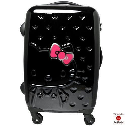 I Want One Of These O Kitty Zipper Luggage Black