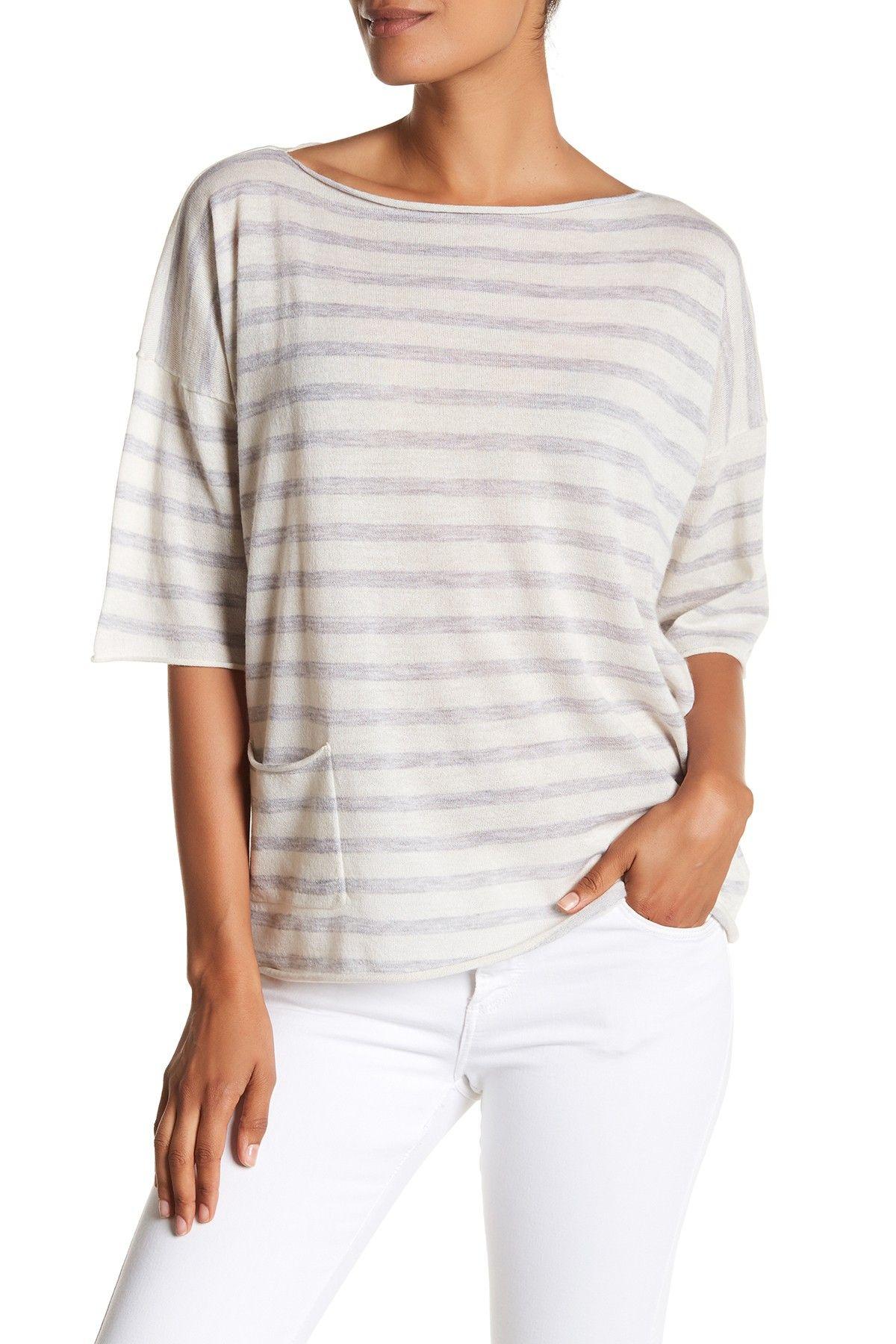 ATM Anthony Thomas Melillo Side Pocket Oversize Cashmere Sweater ...